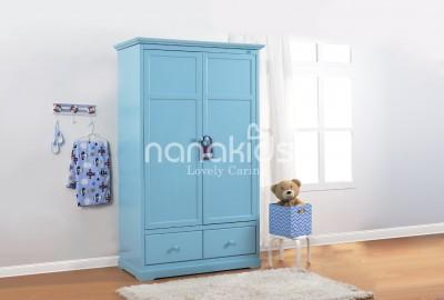 Phong cách tủ quần áo trẻ em bằng gỗ Nanakids được ưa thích nhất 2020.