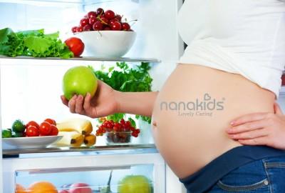 Danh sách các món ăn tốt nhất cho 3 tháng đầu thai kì mà mẹ nên trữ sẵn