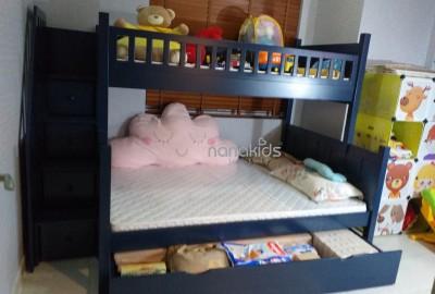 Lựa chọn giường trẻ em đi kèm hộc tủ, nên hay không?