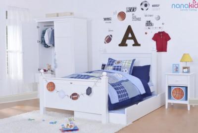 Để con thêm say giấc nồng, một chiếc giường hoàn hảo cho bé là điều không thể thiếu.