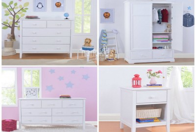 Ý tưởng sắp xếp gọn gàn phòng ngủ trẻ sơ sinh cho bố mẹ bận rộn: