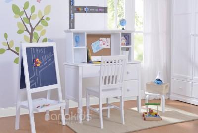 Điểm mặt những sản phẩm nội thất trẻ em Nanakids màu trắng giúp phòng bé sáng sủa hơn.