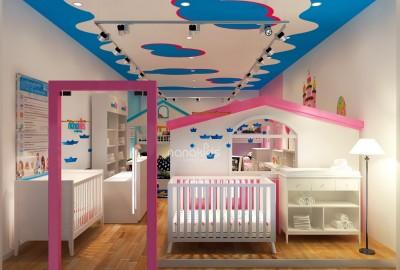 """Mẹo hay thiết kế phòng ngủ trẻ em dành cho quý """"phụ mẫu"""""""