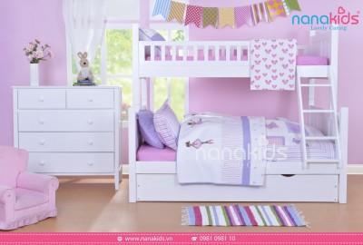 Lựa chọn giường tầng JAYDEN, tiết kiệm tối đa với kết cấu sản phẩm BA trong MỘT.
