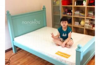 Tạo niềm vui bất ngờ đến bé cưng tại 93 Lò Đúc-Hà Nội với giường đơn trẻ em Baby Blue Madison.