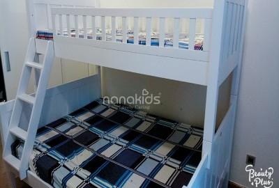 Mãn Nhãn với giường tầng trẻ em Jayden dành cho bé trai tại Park 5 - Vinhomes Tân Cảng - TPHCM.