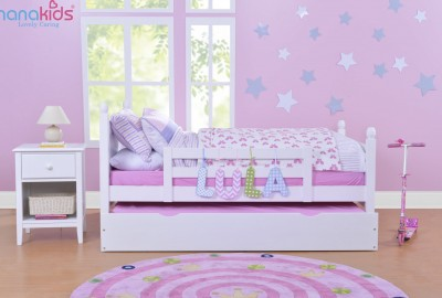 Nên chọn mua giường trẻ em nào phù hợp cho trẻ vừa bỏ nằm nôi?