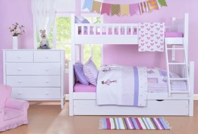 Bước vào thế giới cổ tích với mẫu giường tầng đẹp 2019 dành cho bé.