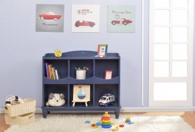 """9 lợi ích tuyệt """"cú mèo"""" khi mua kệ sách cho bé gái."""