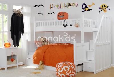 Ngạc nhiên với tính năng tiện ích của giường tầng trẻ em dễ tháo lắp.