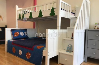 Bộ Sưu Tập 9+ mẫu giường trẻ em sang trọng thời đại công nghệ 4.0