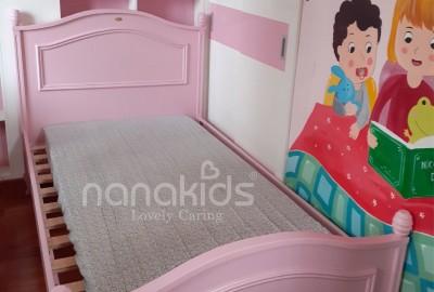 Lắp đặt giường đơn Sophie đáng yêu cho bé gái Bình Chiểu-Thủ Đức.