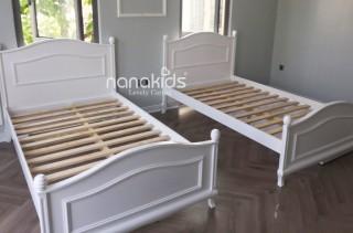 Niềm vui mỗi ngày-Bộ đôi giường Sophie cho bé gái tại Vinhome-Hà Nội.