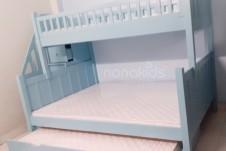 Tạo sân chơi trong nhà cho bé trai Bình Tân-TpHCM với giường tầng Bob
