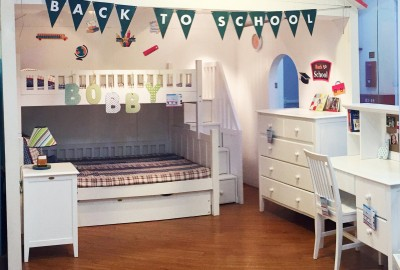 Xây dựng căn phòng kỳ diệu cho bé từ giường tầng thông minh Nanakids đáng yêu.