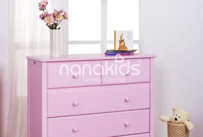 Bán tủ gỗ 5 ngăn hàng uy tín bảo đảm chính hãng cho phòng trẻ em.