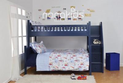 Không thể không mua giường tầng gỗ cho bé với tiện ích vượt trội.