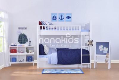 Xu hướng lựa chọn giường tầng nhập khẩu dành cho trẻ em của mẹ Việt.