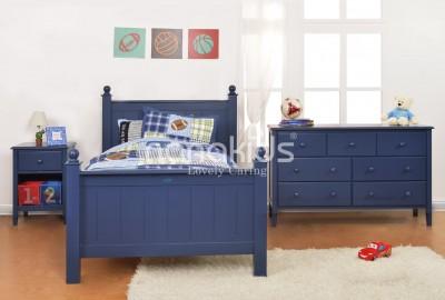 Giường đơn 1m2 cho bé hàng chính hãng, cao cấp từ gỗ thông nhập khẩu.