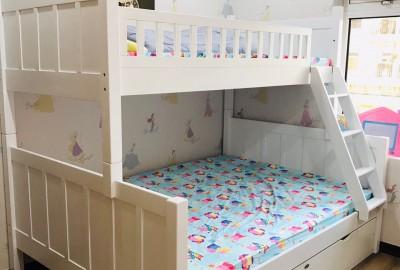 Mẫu giường tầng xuất khẩu Nanakids cho bé cuộc sống chất lượng.
