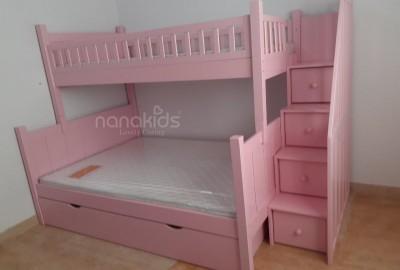 Hiểm hoạ giường tầng giá rẻ tại TPHCM dành cho bé gái mẹ nên cân nhắc.