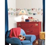 Alphabet Peel & Stick Wall Decals
