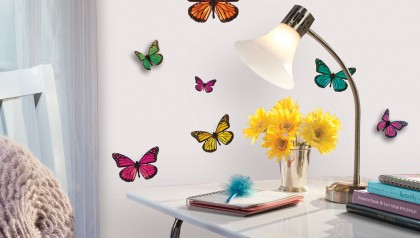 3D Butterflies Wall Sticker