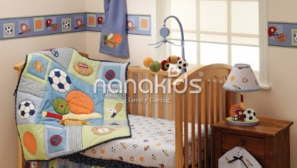 Super Sport 3-pc bedding set