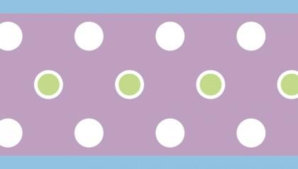 Dot Border - Purple