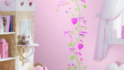 Fairy Princess Peel & Stick Growth Chart