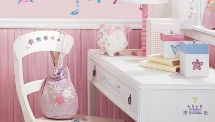Fairy Princess Peel & Stick Wall Decals