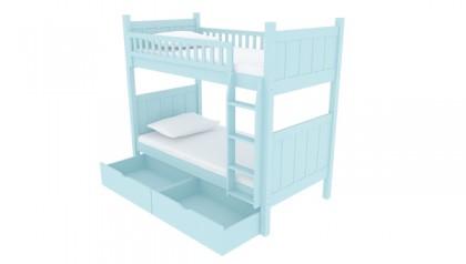 FLYNN BUNK BED BABY BLUE