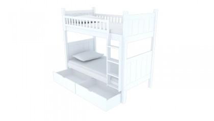 FLYNN BUNK BED WHITE