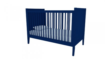 HAILEY CRIB NAVY