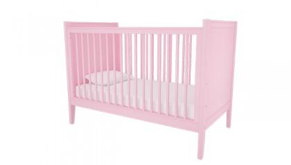 Nôi cũi trẻ em, nôi cũi cho bé Hailey Pink