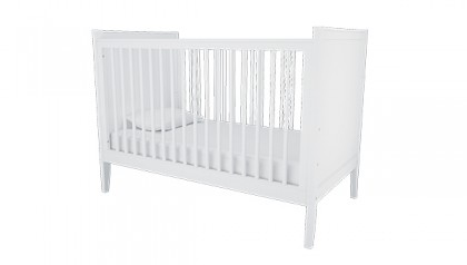 HAILEY CRIB WHITE