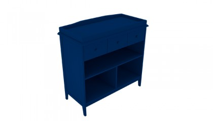 Tủ thay tã Harper Changing Table Navy