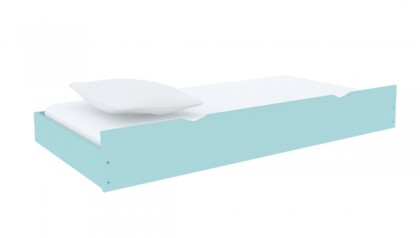 BED TRUNDLE BABY BLUE