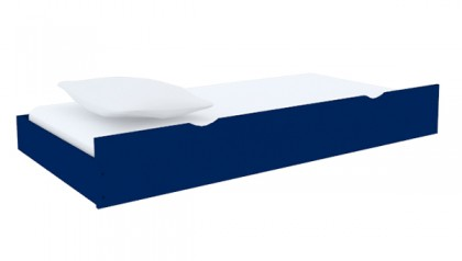 BED TRUNDLE NAVY