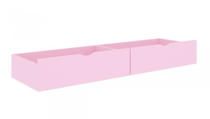 BED DRAWERS PINK