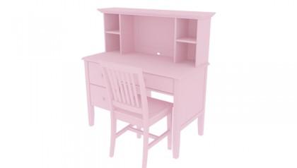 Bộ bàn học trẻ em, bàn học cho bé Madison Pink