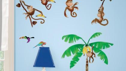 Morrow Monkeys Peel & Stick Wall Decals