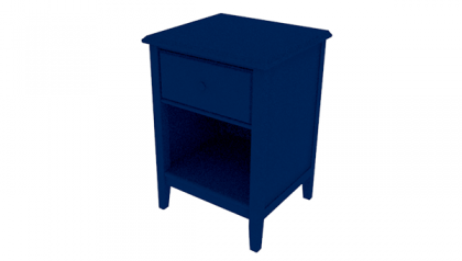 SOPHIE NIGHTSTAND NAVY