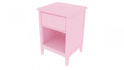 Tủ đầu giường trẻ em Sophie Night Stand Pink