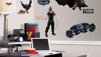 THE DARK KNIGHT RISES WALL DECAL