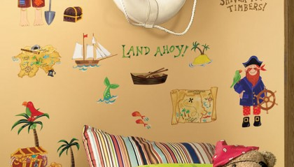 Treasure Hunt Peel & Stick Wall Decals