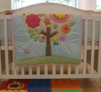 Baby Bedding - Set 3 flower