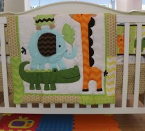 Baby Bedding - Set 5 animals