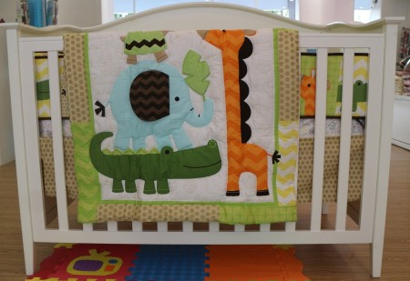 Baby Bedding - Set 5 animals