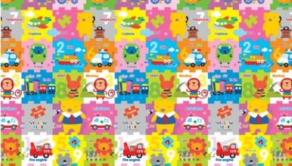 PL MAT YB Play Road + YB Puzzle 150*200*1cm